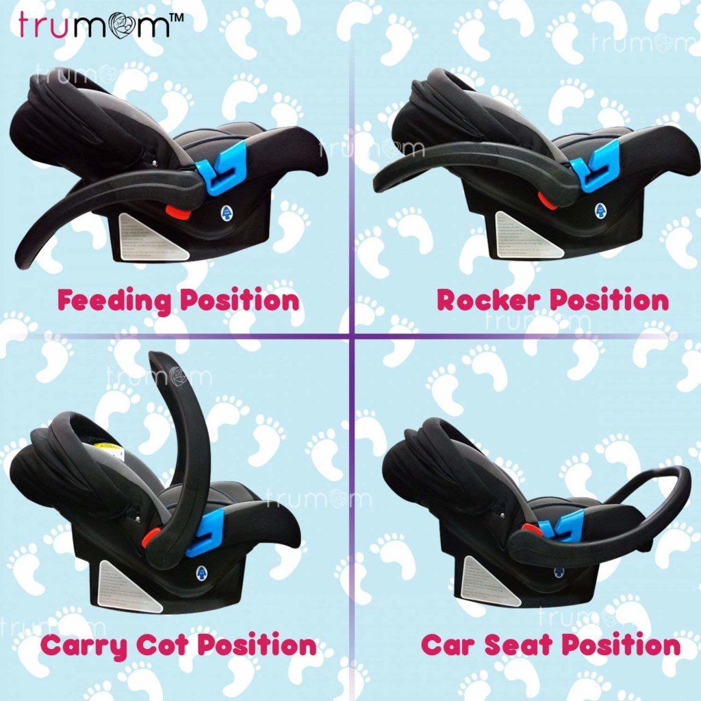 TRuMom How to use Car Seat India