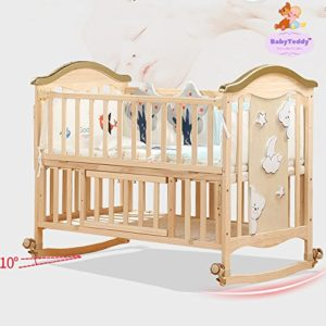 BabyTeddy's 9 in 1 Convertible Wooden Cot Review