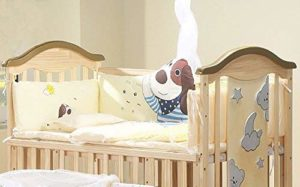 BabyTeddy's Wooden Cot for Baby Fits adult bed