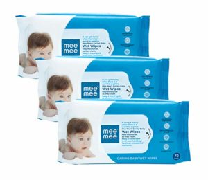 Mee Mee Baby Wet Wipes with Aloe Vera