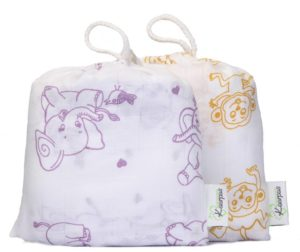 Muslin Organic Cotton Best swaddle for baby in india