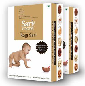 Sari Foods Organic Ragi Cereals