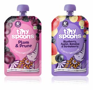 Tiny Spoons Organic Baby Food India