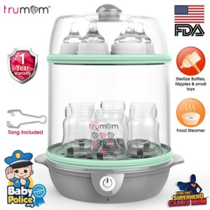 Trumom Electric Steam Sterilizer and Baby Food Steamer - Baby Product checklist
