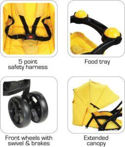 Baby Joy - Best LuvLap Stroller in India