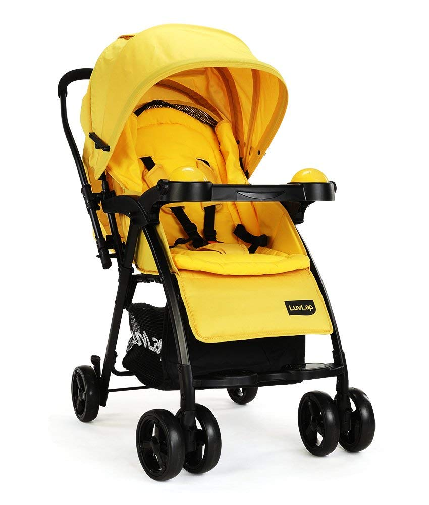 Luvlap Baby Joy Stroller Pram Review & Price in India