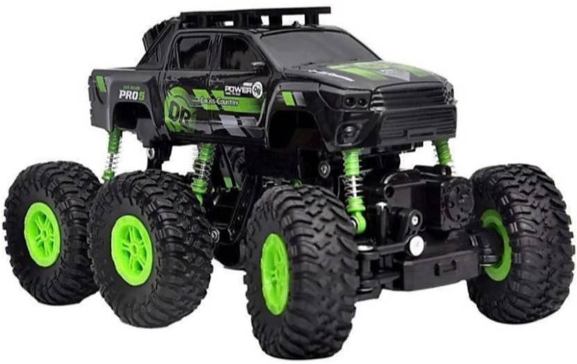 6 Wheel Rock Crawler RC Truck Price & Review