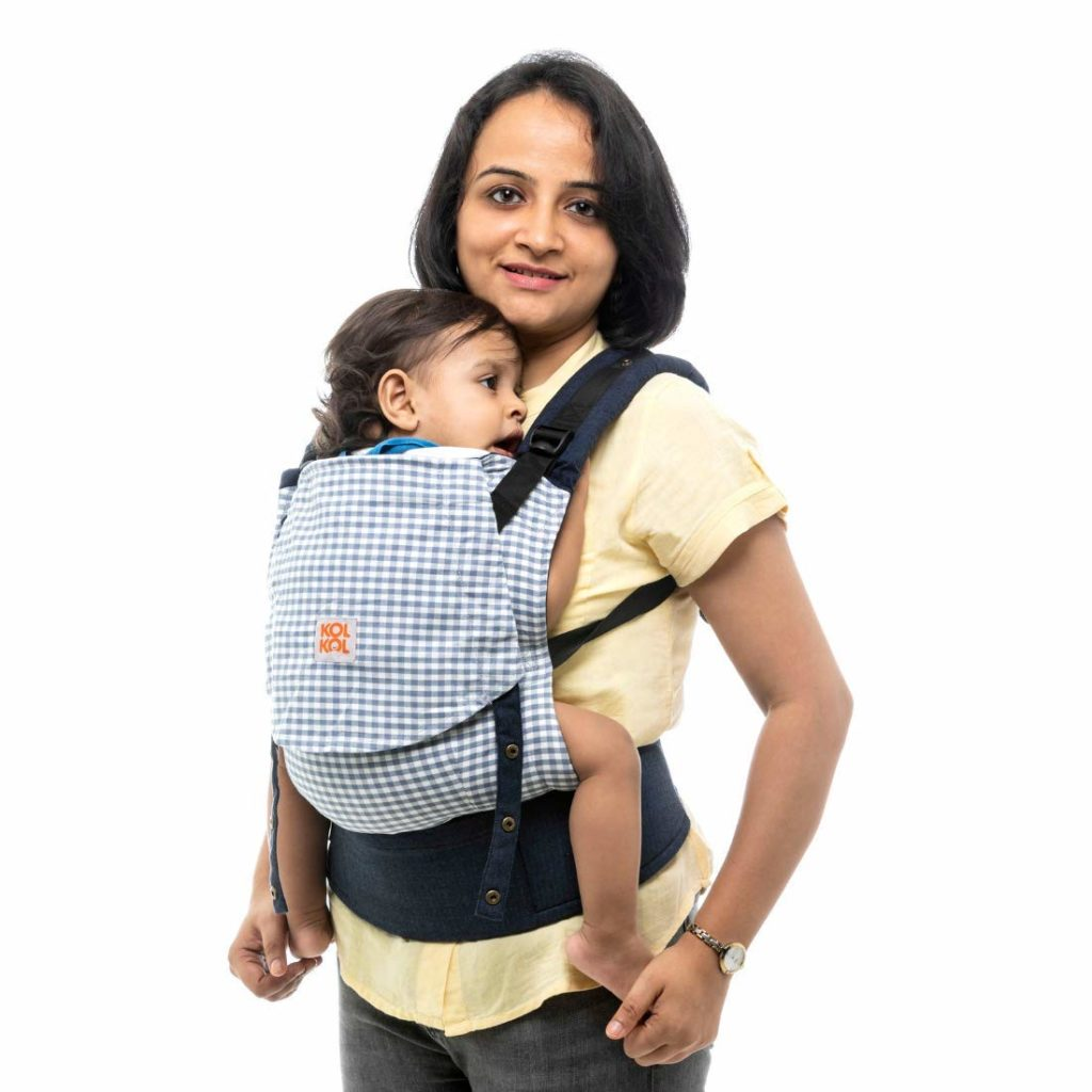 Kol Kol Cotton Baby Carrier - Hand Woven
