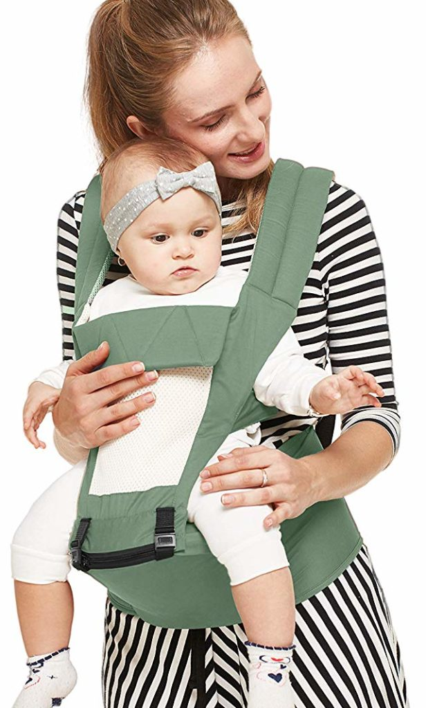 R for Rabbit Upsy Daisy Baby Carrier with Hip Seat Ergonomical