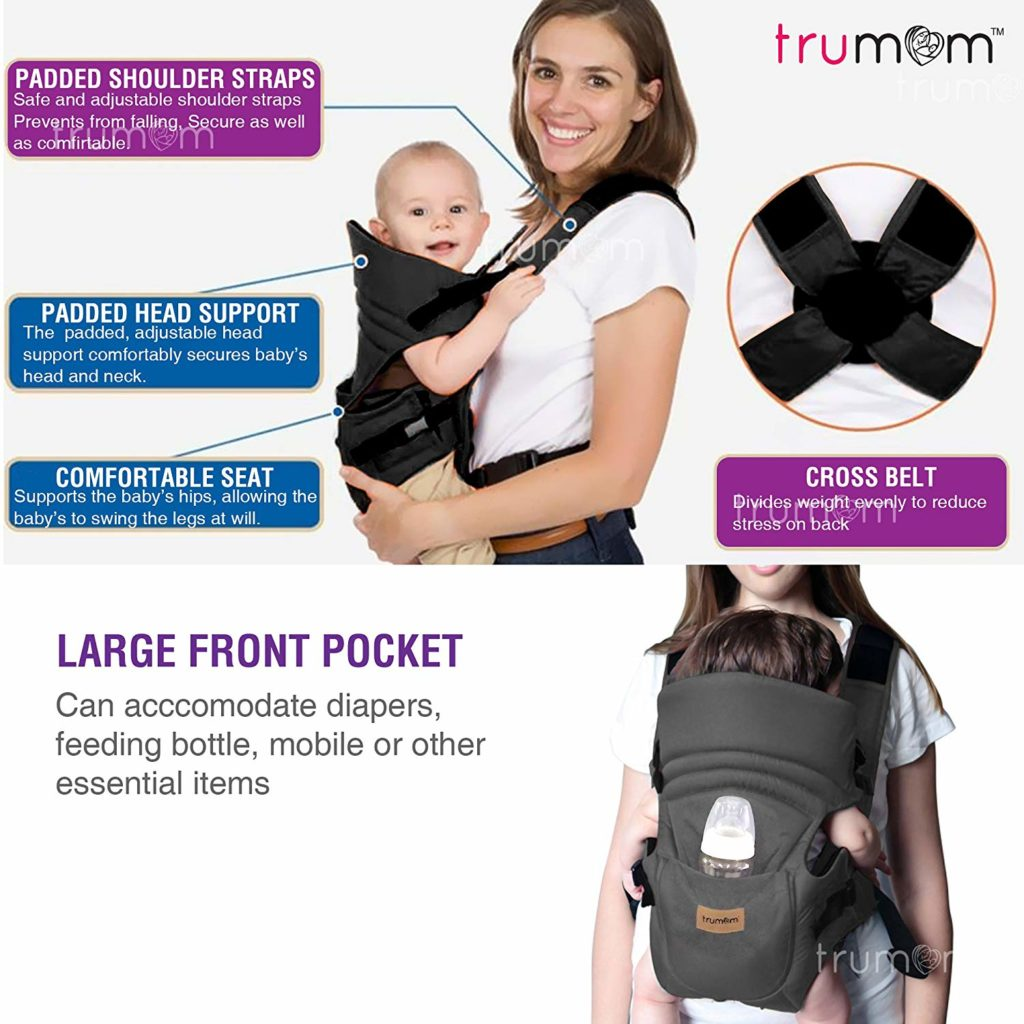 Trumom 3 in 1 Baby Carrier India